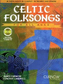 CELTIC FOLKSONGS FOR ALL AGES CLARINETTE OU TROMPETTE