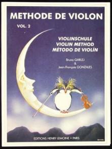 GARLEJ B. / GONZALES J.F. METHODE DE VIOLON VOL 2