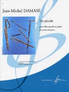 DAMASE J.M. FOR PICCOLO FLUTE PICCOLO