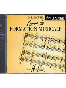 LABROUSSE M. COURS DE FORMATION MUSICALE 4ME ANNEE CD