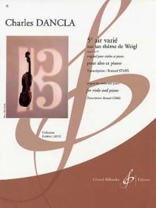 DANCLA C. AIR VARIE OP 89 N°5 ALTO