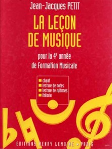 PETIT J.J. LA LECON DE MUSIQUE VOL 3