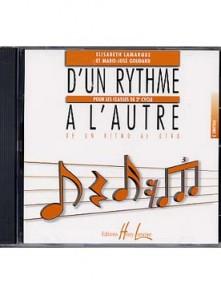 LAMARQUE E./GOUDARD M.J. D'UN RYTHME A L'AUTRE VOL 3 CD