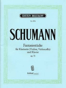 SCHUMANN R. PIECES DE FANTAISIES OP 73 CLARINETTE