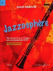 MAKHOLM J. JAZZOSPHERE VOL 2 CLARINETTE