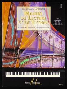 SANGOUARD J.C. MANUEL DE LECTURE ET DE RYTHME VOL 1