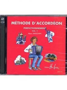 MAUGAIN M. METHODE ACCORDEON VOL 2 CD