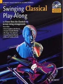 SWINGING CLASSICAL PLAY-ALONG VIOLON