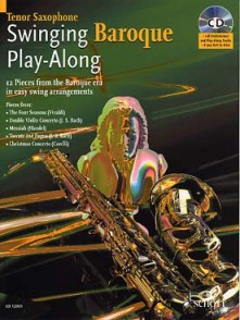 SWINGING BAROQUE PLAY-ALONG SAXO TENOR