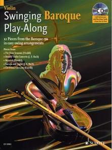 SWINGING BAROQUE PLAY-ALONG VIOLON