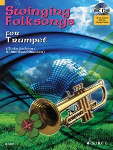 SWINGING FOLKSONGS FOR TROMPETTE