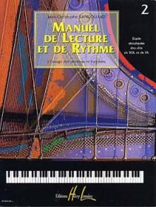 SANGOUARD J.C. MANUEL DE LECTURE ET DE RYTHME VOL 2