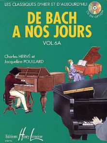DE BACH A NOS JOURS VOL 6A PIANO