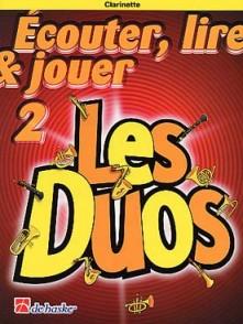 ECOUTER LIRE JOUER VOL 2 LES DUOS CLARINETTES