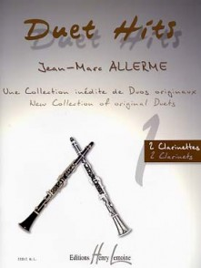 ALLERME J.M. DUETS HITS CLARINETTES