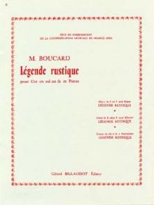 BOUCARD M. LEGENDE RUSTIQUE COR