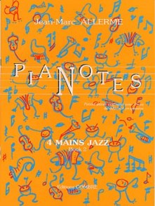 ALLERME J.M. PIANOTES JAZZ LIVRE 2 PIANO 4 MAINS