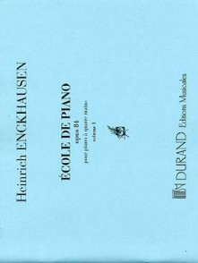 ENCKHAUSEN H. ECOLE DE PIANO OP 84 VOL 1  PIANO 4 MAINS