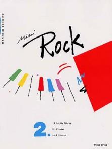 SCHMITZ M. MINI ROCK VOL 2 PIANO 4 MAINS