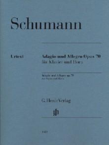 SCHUMANN R. ADAGIO ET ALLEGRO OP 70 COR