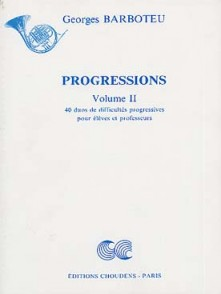 BARBOTEU G. PROGRESSIONS VOL 2 CORS