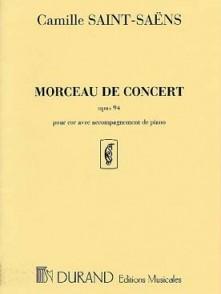 SAINT-SAENS C. MORCEAU DE CONCERT COR