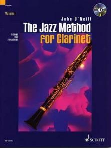 O'NEILL J. THE JAZZ METHOD VOL 1 FOR CLARINET