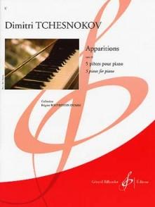 TCHESNOKOV D. APPARITIONS OP 26 PIANO