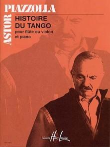 PIAZZOLLA A. HISTOIRE DU TANGO FLUTE