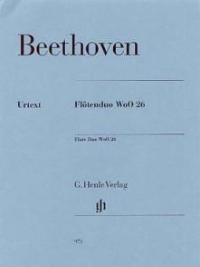 BEETHOVEN L.V. FLOTENDUO WoO26 FLUTES