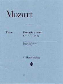 MOZART W.A. FANTAISIE KV 397 PIANO
