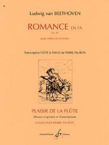 BEETHOVEN L.V. ROMANCE EN FA FLUTE