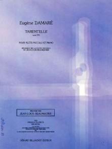 DAMARE E. TARANTELLE OP 391 FLUTE PICCOLO