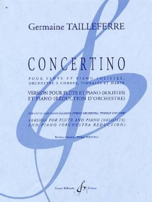 TAILLEFERRE G. CONCERTINO FLUTE