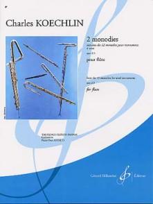 KOECHLIN C. MONODIES OP 123 FLUTE SOLO
