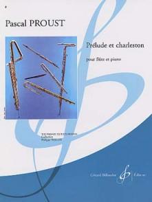 PROUST P. PRELUDE ET CHARLESTON FLUTE