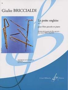 BRICCIALDI G. LA PETITE ANGLAISE OP 74 FLUTE PICCOLO