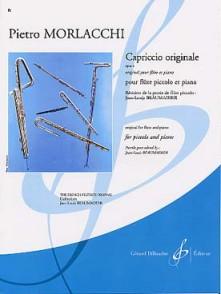 MORLACCHI F.P. CAPRICCIO ORIGINALE OP 4 FLUTE PICCOLO