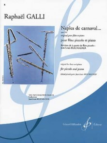 GALLI R. NAPLES DE CARNAVAL OP 336 FLUTE PICCOLO
