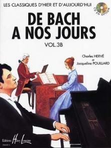 DE BACH A NOS JOURS VOL 3B PIANO