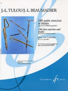 TULOU J.L.140 PETITS EXERCICES ET ETUDES FLUTE