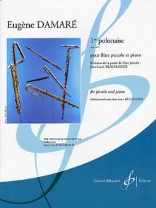 DAMARE E. 1RE POLONAISE OP 225 FLUTE PICCOLO