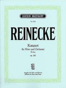 REINECKE C. CONCERTO OP 283 FLUTE