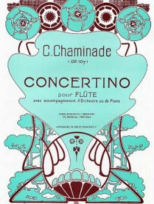 CHAMINADE C. CONCERTINO FLUTE