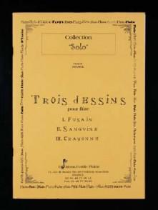 FRANCK P. 3 DESSINS FLUTE