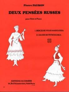 PAUBON P. PENSEES RUSSES FLUTE