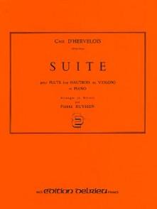 CAIX D'HERVELOIS L. SUITE FLUTE