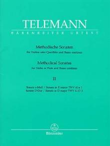 TELEMANN G.P. METHODICAL SONATAS VOL 2 FLUTE