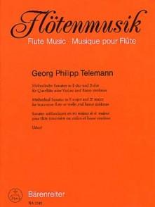 TELEMANN G.P. METHODICAL SONATAS VOL 5 FLUTE