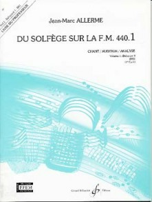 ALLERME J.M. DU SOLFEGE SUR LA FM 440.1 CHANT PROFESSEUR